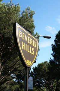 Los Angeles Beverly Hills Sign