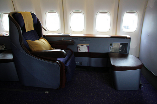 Travel in first class style