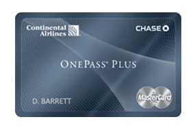Travel deals when you use your Continental Airlines card