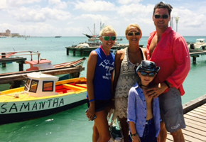 Ken and Family in Aruba